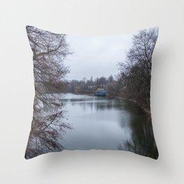 București river Throw Pillow