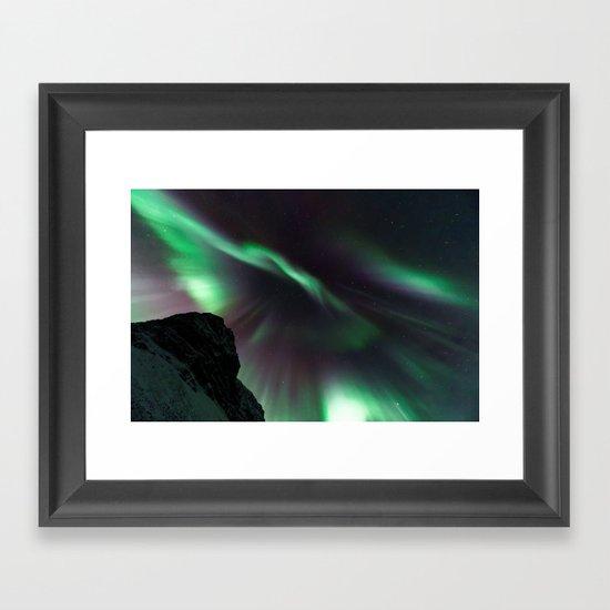 Aurora V Framed Art Print