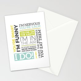 I Do Stationery Cards