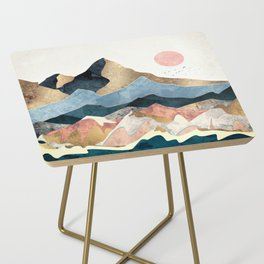 Golden Peaks Side Table