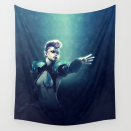 Tribal Warrior Wall Tapestry