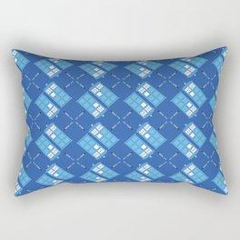 Gallifrey Argyle Rectangular Pillow