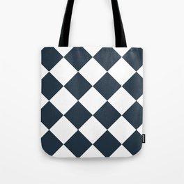 Checkered (Annapolis Blue) Tote Bag