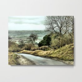 West Heslerton Metal Print