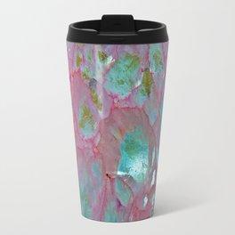 Pink Agate Formation Travel Mug
