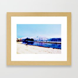 Corpach Sea loch, Highlands of Scotland Framed Art Print