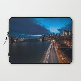 Blue Hour New York City Laptop Sleeve