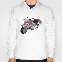 motorbike Hoodies featuring MotorBike by tuncay cavdar