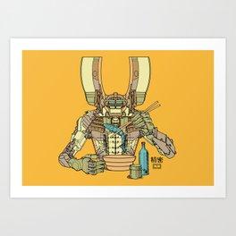 Sushi Droid Ver. 2 Art Print