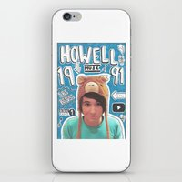 danisnotonfire iPhone & iPod Skins featuring danisnotonfire collage by emma