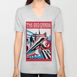 The Red Arrow Unisex V-Neck