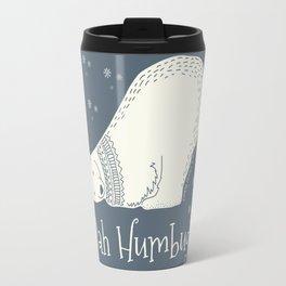 Bah humbug! - Ebenezer Scrooge Travel Mug