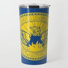 flag of atlanta Travel Mug