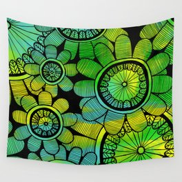 Big Floral 2 Wall Tapestry