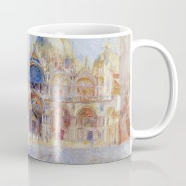 Auguste Renoir - The Piazza San Marco in Venice Coffee Mug