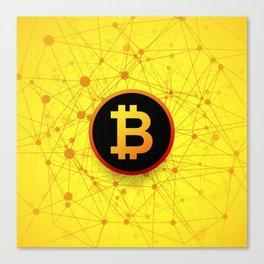 bitcoin Canvas Print