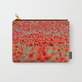 Field of Poppies | Mohnblumenfeld Carry-All Pouch