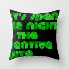 Cozy Creative Suite. Throw Pillow