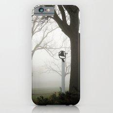 Misty school bell in autumn Slim Case iPhone 6s