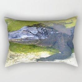 American Alligator Rectangular Pillow