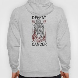 Defeat Cancer (Michael and the Dragon) Hoody