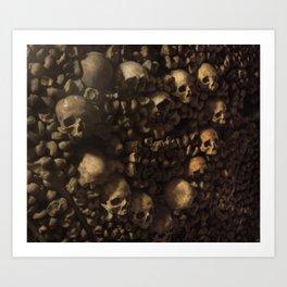Love and Death Art Print