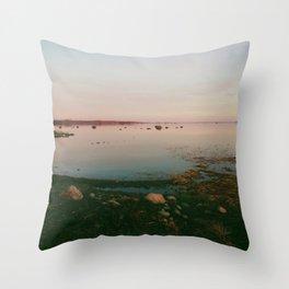 Lake Hjälmaren, Örebro, Sweden Throw Pillow