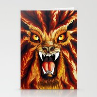 werewolf Stationery Cards featuring Werewolf by BluedarkArt