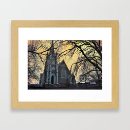 Carngham Uniting Church Framed Art Print