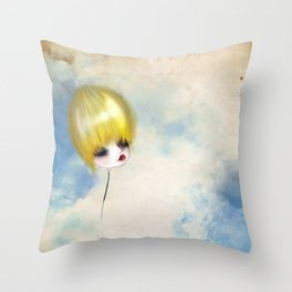 Breaking Away Throw Pillow