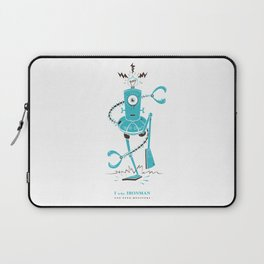 I is for Ironman Laptop Sleeve