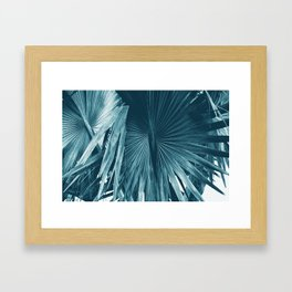Cyan Bismarck Framed Art Print