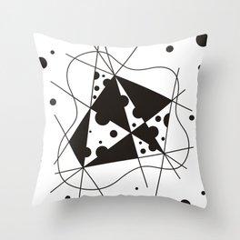 Sclerosis Throw Pillow