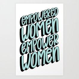 Empower Women Art Print