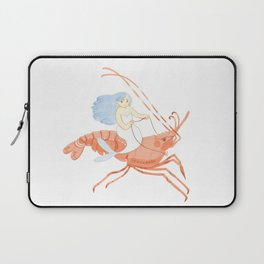 The Magnificent Shrimp Rider Laptop Sleeve