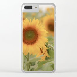 Sunny Side of Life Clear iPhone Case