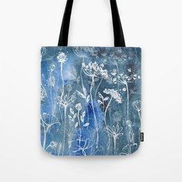 Indigo Hedgerow Tote Bag