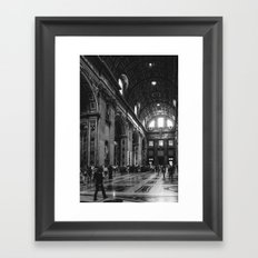 Basilica Framed Art Print