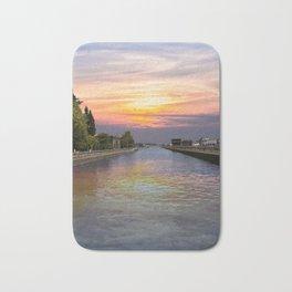Ballard Locks at Sunrise Bath Mat