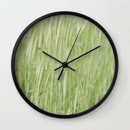 Rye plantation Wall Clock