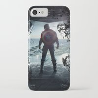steve rogers iPhone & iPod Cases featuring Steve Rogers 002 by TheTreasure