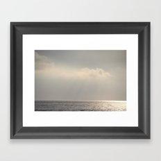 silent. Framed Art Print