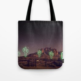 UFO forest Tote Bag