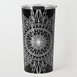 Mandala Star Tattoo Travel Mug