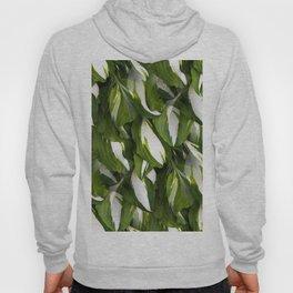 Beautiful Variagated Green Leaves Nature #decor #society6 #buyart Hoody