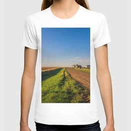 Walkin' on a Country Road 3 T-shirt