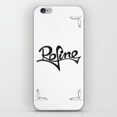refine iPhone & iPod Skin