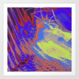 Psychedelica Chroma XXI Art Print