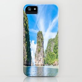 Islets in Phang Nga Bay iPhone Case