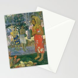 Hail Mary by Paul Gauguin, 1891 Stationery Cards